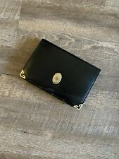 Vintage Christian Dior Clutch Purse Black/Gold
