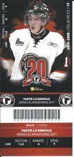 QMJHL Ticket - Quebec Remparts 20th Anniversary FELIX PETIT #17