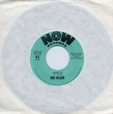 RON HOLDEN      I NEED YA / CAN YOU TALK       US NOW   70s FUNKY SOUL