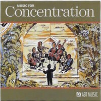 Music for Concentration by Arcangelos Chamber Ensemble CD 1998 Advanced Brain