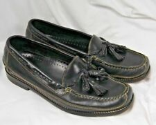 Cole Haan Country Men's Shoes Black Casual Slip On Tassel Loafers Size 10 M