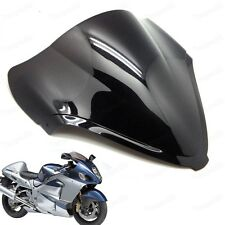 Double Bubble Windscreen Windshield for Suzuki Hayabusa GSXR1300R 2008-2016 New