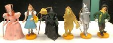 Set 6 Wizard of Oz Figures 1988 Turner Mint Dorthy Scarecrow Tin Man Cowardly +
