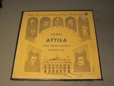 Verdi- Attila- Hines/Gencer/ Martinucci- 2XLP Box Set Robin Hood  RHR 505 Sealed