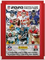 Panini NFL 2020/21 Sticker Collection Starter Pack & Packs