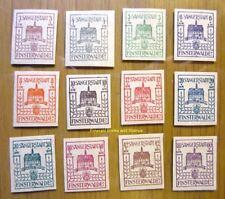 EBS Germany 1946 Locals Finsterwalde Sängerstadt Michel 1-12 MNH**