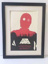 Framed Star Wars Art Print - 55cm by 42cm