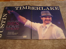Justin Timberlake congrats ad for 103 shows for Future Sex Love Show, N'Sync