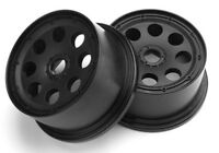New HPI Baja 5T Baja 5B Baja 5SC Outlaw Wheel Black 120x65mm/-10mm Offset (2)...