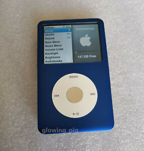 512GB 1TB SSD & LG 2000mAh Upgraded Custom iPod Classic 7th Gen THIN - WARRANTY