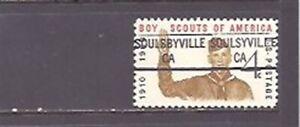 CALIFORNIA Precancels: Boy Scout Stamp - Soulsbyville 841 Error (# 1145)