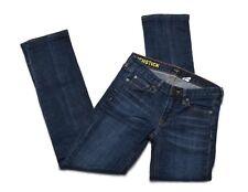J.Crew Womens Matchstick Stretch Dark Stonewash Low Rise Straight Jeans Sz 26R