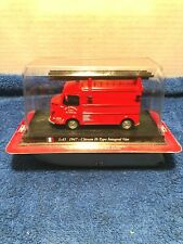 Del Prado Fire Truck 1:43 1947-Citroen H-Type Integral Van   New in Box