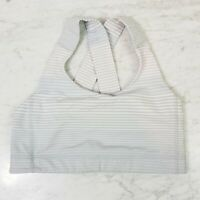 LULULEMON | Womens Striped Sports Bra  [ Size AU 10 or US 6 ]