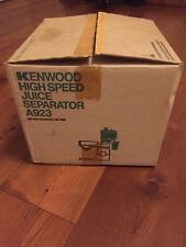 High Speed Juice Separator A923 for Kenwood CHEF A901