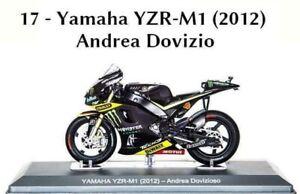 Andrea Dovizioso 2012 - Yamaha YZR-M1 1/18 New IN Box Moto Gp Miniature