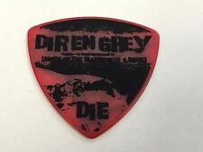 Guitar Pick DIR EN GREY TOUR 16-17 PA-DD08-THE MARROW OF A BONE Red JAPAN