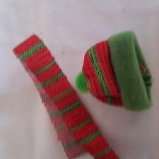 Mütze und Schal für ca. 12 cm Bär, Kopfumfang 11 cm