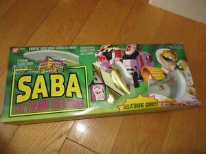 Vtg 1994 Bandai Power Rangers White Ranger Saba Tiger Saber Sword Works