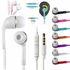 lot 10/20 earpiece iphone Samsung LG ZTE HTC Headset Earphone Earbud with remote