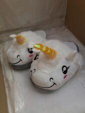 Novelty Unicorn Mule Slippers Super Soft Comfort Slip-on Loafers - Large UK 7-8