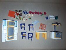 Lot Playmobil issu de la boîte 3968 cuisine contemporaine  de 2001