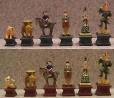Chess Set Pieces Chinese Tang Dynasty NIB