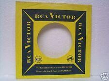 2- RCA  RECORD COMPANY 45's SLEEVES  LOT# 446