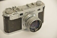 NIKON S Nº 6105273 - NIKKOR--S-C Nº 331629, 1.4/5cm