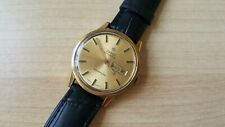 Gent's Vintage Gold Plated Zodiac Goldenline Day-Date Automatic Wrist Watch