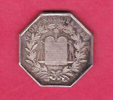 (J.35) JETON DE NOTAIRES  DE L'ARDT DE CHALONS SUR MARNE 1833 ARGENT