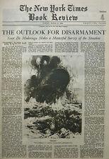 DISARMAMENT MADARIAGE VOUDROUS CHUMOLAORI TIBET DR MOTON 1929 March 31 NY Times
