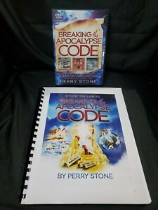 BREAKING THE APOCALYPSE CODE by Perry Stone 7 DVD Set w/ Study Syllabus
