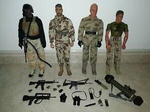 "1/6 12"" BBI GI Joe Ultimate Soldier PowerTeam Figures and Accessories"