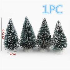 1 X 10cm Christmas Pine Tree Festival Party Ornaments Home Office Xmas Decor Pop