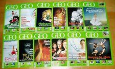 GEO Zeitschrift 2009 komplett Bild der Erde Jahrgang 12 Hefte Sammlung
