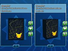 Elite Trainer Celebrations Deck Box Card Sleeves Pokemon Card Online TCG Item