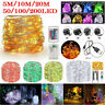 LED USB/Electric/Battery Operated 50 100 200 LED Copper Wire String Fairy Lights