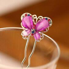 Mode-Haarspangen mit Schmetterling