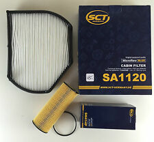 ÖLFILTER inkl. DICHTUNG + POLLENFILTER  SCT GERMANY W202 A202 W210 S210 R170