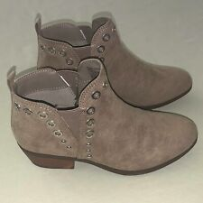 Girls Circus by Sam Edelman Size 13 C Paula Joanne Ankle Boots Booties Taupe NIB