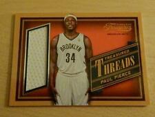 2013-14 PANINI TIMELESS TREASURES PAUL PIERCE GAME USED TREASURED THREADS NETS