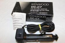 Kenwood DC-C7 car cigarette lighter adaptor 12V to7V 2.5mm Power Plug Neg-Center