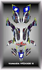 Yamaha YFZ 450R 450X 09-13  SEMI CUSTOM GRAPHICS KIT NEOFLO