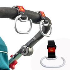 Baby Stroller Aluminum Hook Clip for Pram Buggy Pushchair Wheelchair Rollator Q