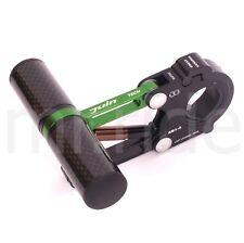 JUIN AB1-S-Carbon tube Bike computer suspension mount Green