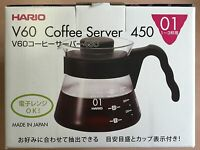 Hario V60 Coffee Server VCS-01B 450ml Black from JAPAN