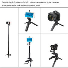 Mini Folding Table-Top Tripod Stand+Handheld Grip For Gopro Hero 4 Camera Phone