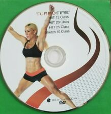 Beachbody Turbo Fire - HiiT 15/HiiT 20/HiiT 25/Stretch 10 - Replacement Dvd