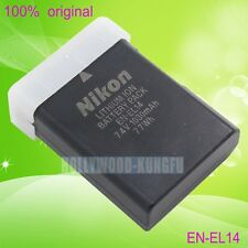Genuine Original Nikon EN-EL14 Battery For MH-24 D5100 D5200 D5300 EN-EL14A